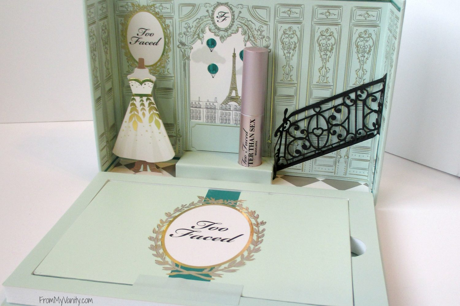 Too Faced La Petite Maison // Holiday Set // Review & Swatches // Opened Box // #UltaBeauty #TooFaced FromMyVanity.com
