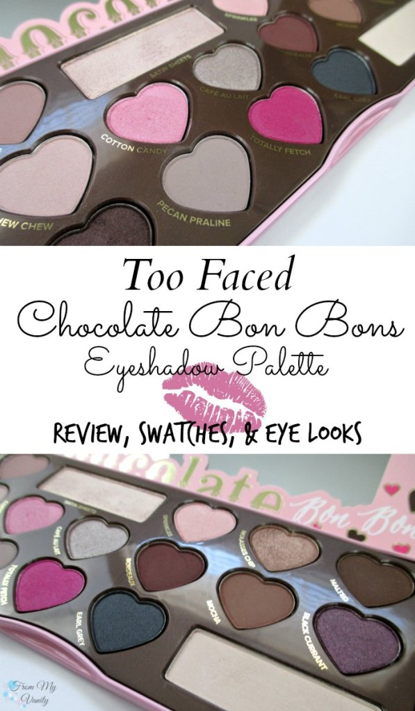 I feel like the new Too Faced Chocolate Bon Bons palette has been raved about on Youtube and beauty blogs constantly ever since it was released, and for good reason. It smells like chocolate and the pans are shaped like hearts -- you automatically want to like it, am I right?! But is it worth the pricetag? Is it better than their other chocolate bar palettes? Do you need it if you already own the other palettes? Let's find out!