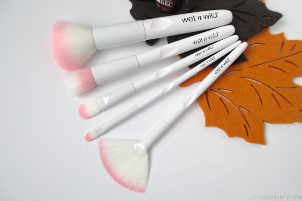 Wet N Wild 2016 Products // Brushes, Gel Polishes, Liquid Liners, & Limited Edition Eyeshadow Trio // Brushes // FromMyVanity.com
