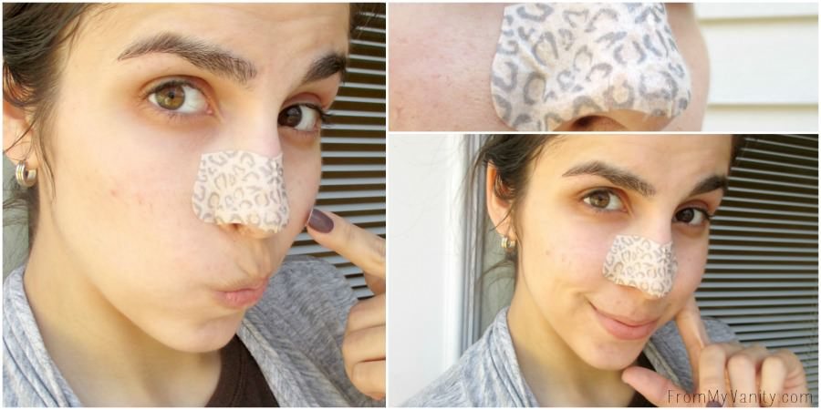 Got to keep the face clear with my DIY mud mask and the pores unclogged with BIore's limited edition animal print strips! // FromMyVanity.com