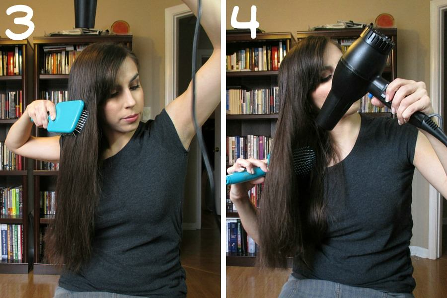 Quick Hairstyles for Busy Moms // Goody Brushes // Updo Steps 3 & 4 // FromMyVanity.com #goody #hairstyles