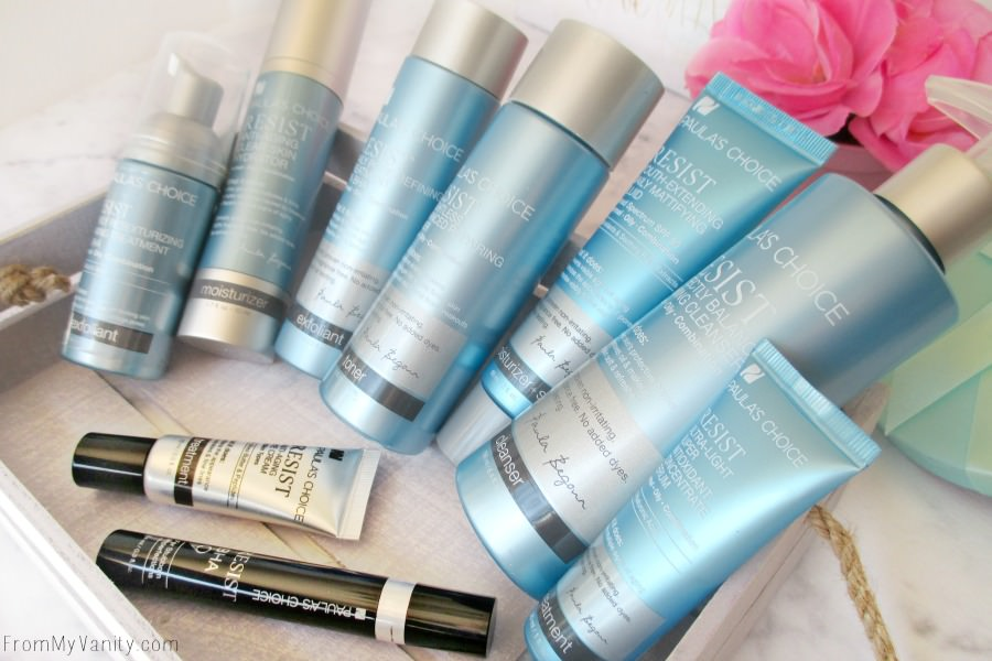 The Resist Advanced Kit for Wrinkles + Breakouts and the Resist Eye Cream and Resist BHA 9 do wonders for acne-prone skin!