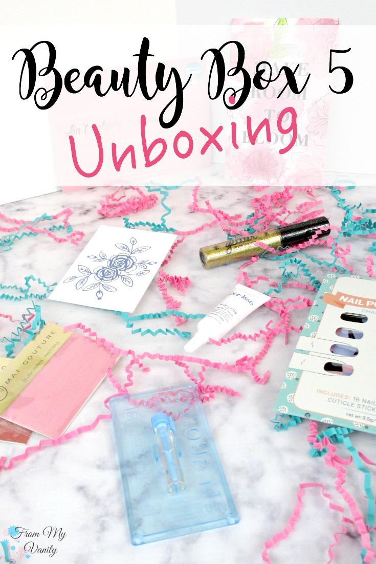Look at all the goodies in this Beauty Box 5 Unboxing!