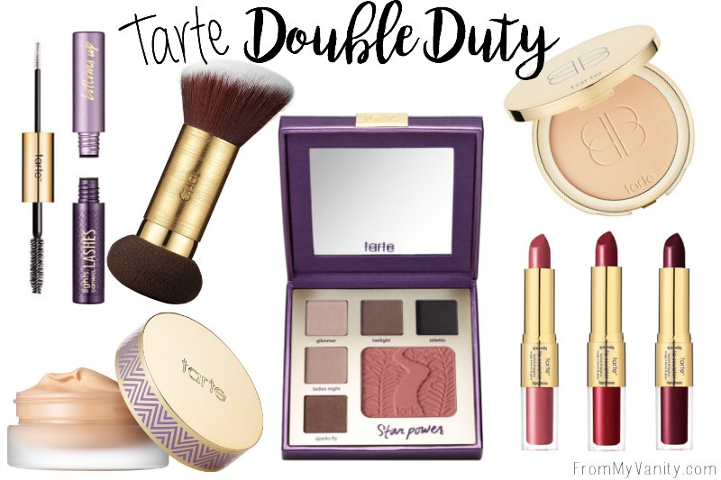 So many awesome products in the Tarte Double Duty line!