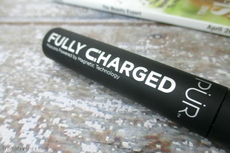 Close up of PUR Cosmetics Fully Charged Mascara   FromMyVanity.com