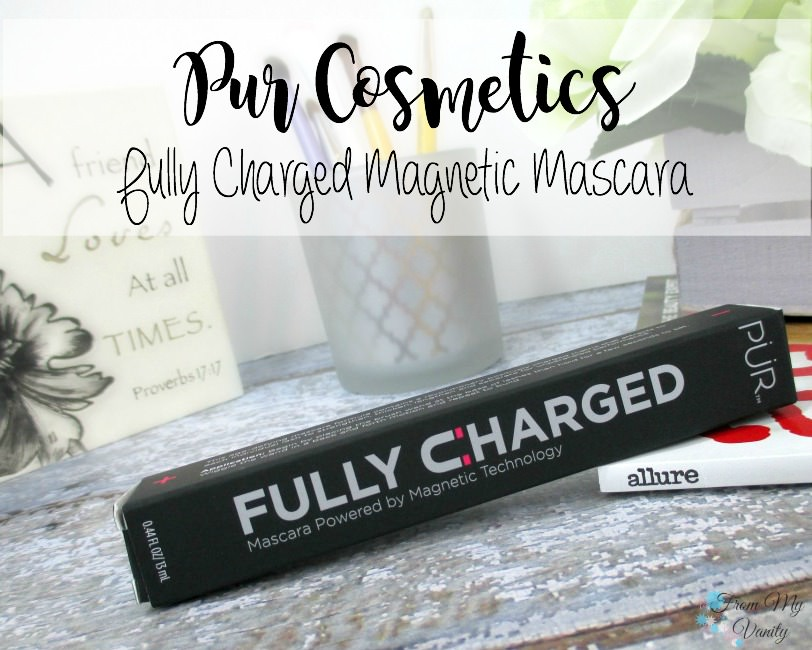 PUR Cosmetics new Fully Charged mascara has been giving my lashes life!