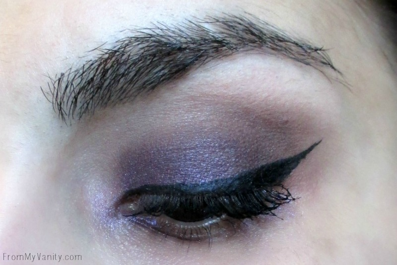 Purple smokey eye using the NEW Revlon ColorStay Not Just Nudes palette   FromMyVanity.com