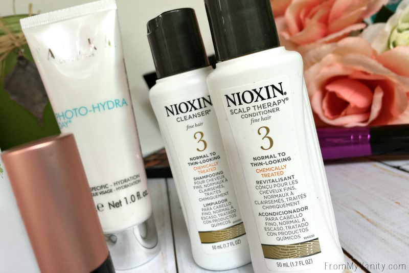Nioxin Cleanser and Conditioner sound good!