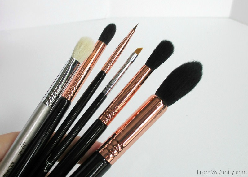 All my new Sigma Beauty brushes!