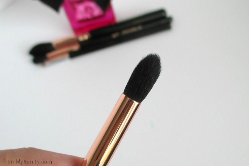 Closeup of Sigma Beauty's Small Tapered Blending E45 Brush