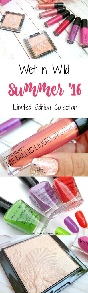 Wet n Wild is killing it with their Summer 2016 collection! Just look at all the fabulous stuff that is popping up in drugstores -- including that precious petals highlighter that everyone is raving about!