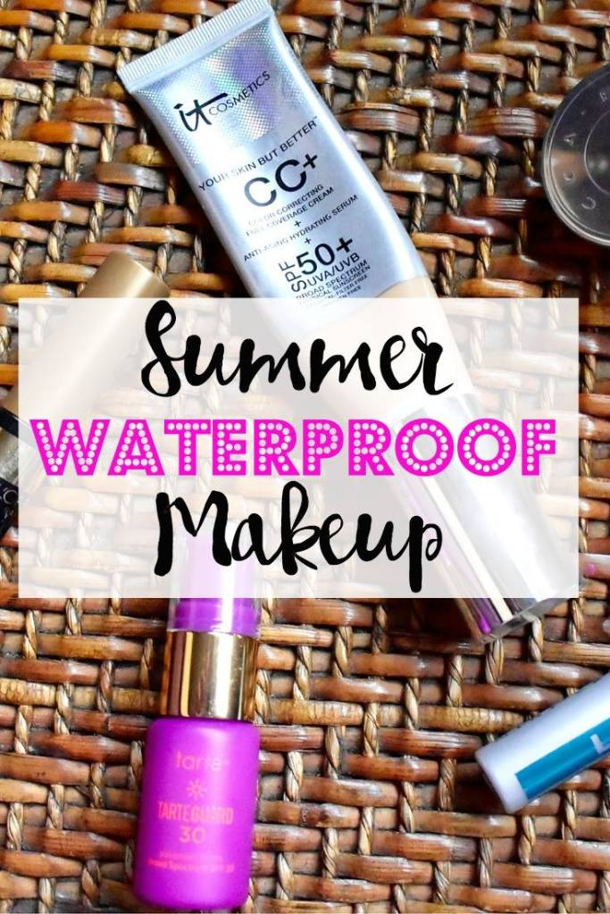 Check out some top picks for summer waterproof makeup! Because nobody has time for melting makeup!
