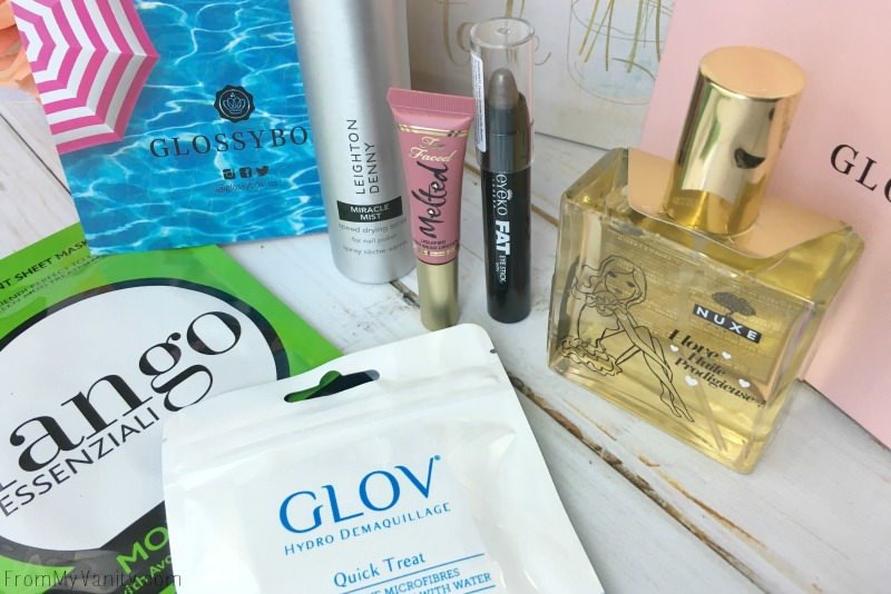 Glossybox Monthly Subscription Box!