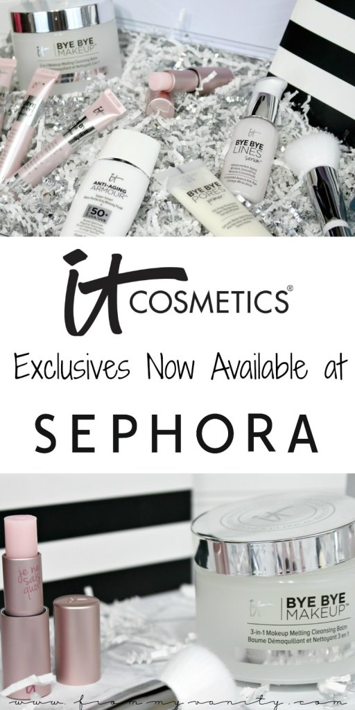 IT Cosmetics Bye Bye Exclusives are now available at Sephora -- along with other products from the line! What will YOU be getting to try from these new products that combine skincare with makeup?!