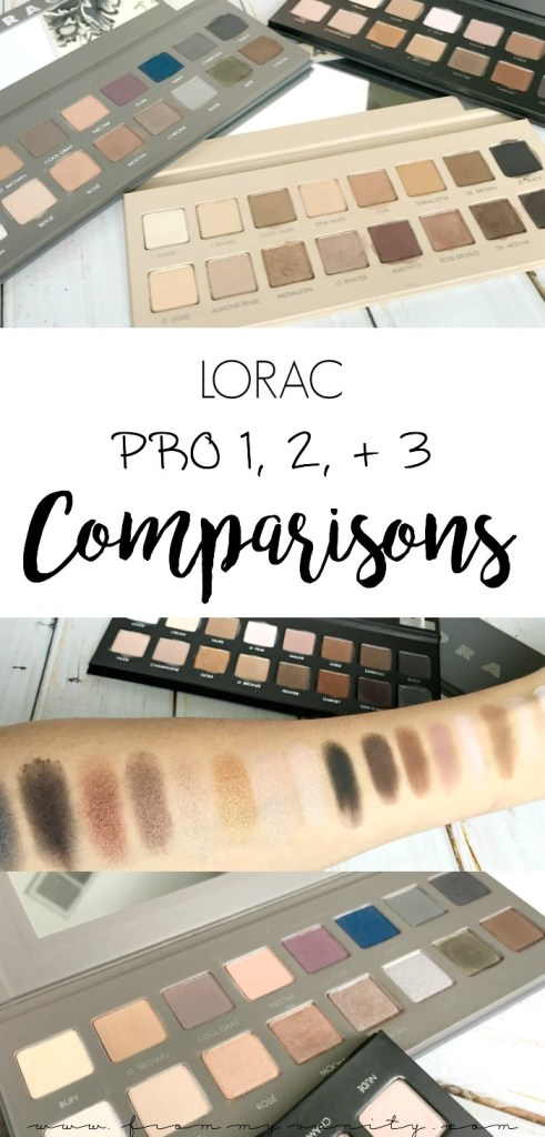 Which LORAC PRO palette is right for you? It's all broken down in this really in-depth, informative comparison post -- sharing both the pros and cons of EACH palette!