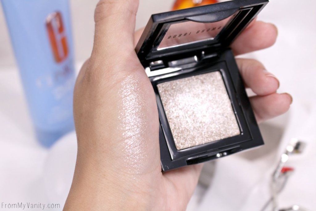 Bobbi Brown's Sparkle Shadow swatched!