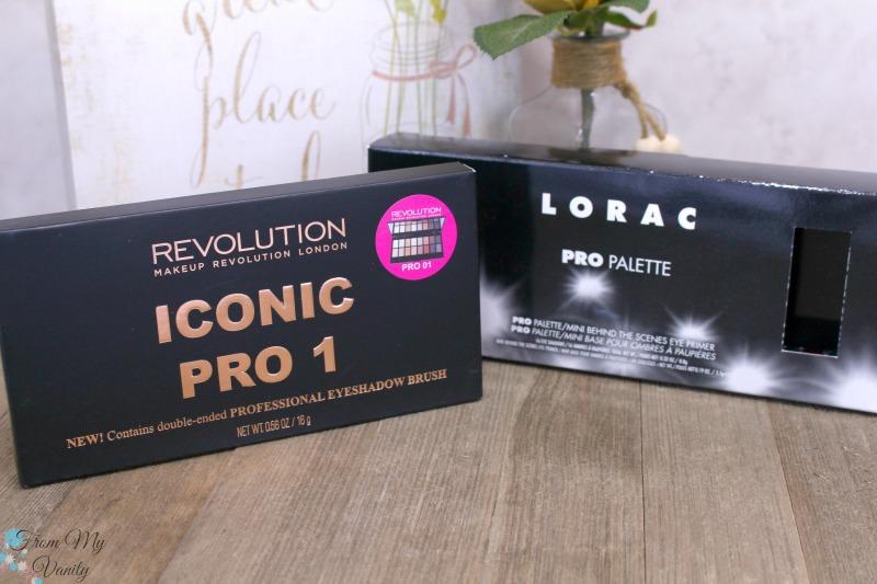 PRO palette vs Iconic Pro 1