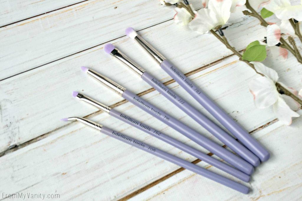 Bdellium Tools Sultry Eyes 5 pc Brush Set