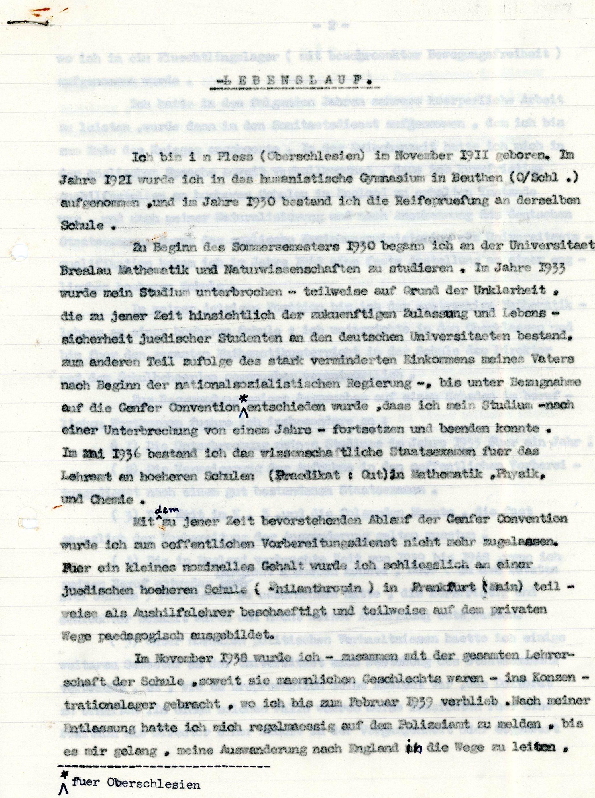 Grundschule Lehrer Lebenslauf Vorlage - 4discussion.info ...