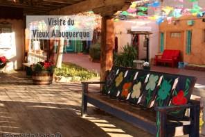 Visite du Vieux Albuquerque par un froid glacial