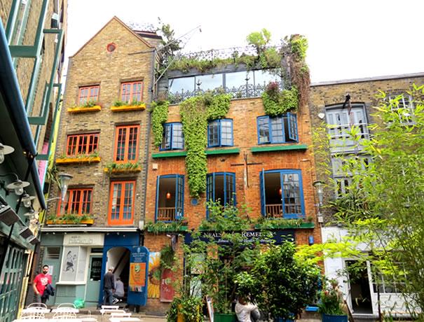 Casas coloridas en Neal's Yard
