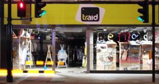 Traid charity shop