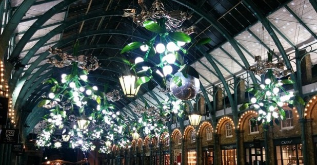 Covent Garden Xmas lights 2015