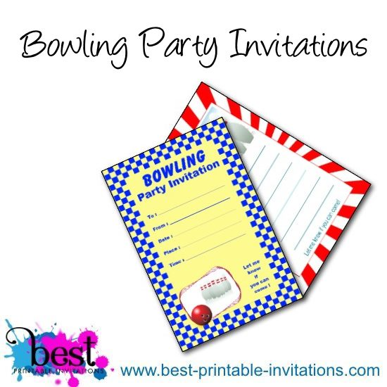bowling-party-invitationsjpg - Free Printable Bowling Party Invitations