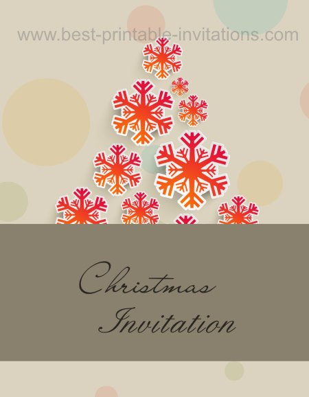 Christmas Invitation Cards