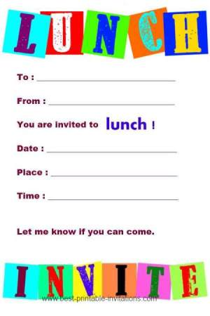 invitations for lunch - Goalgoodwinmetals - lunch invitation template