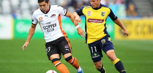 A-League Rd 5 - Central Coast v Brisbane