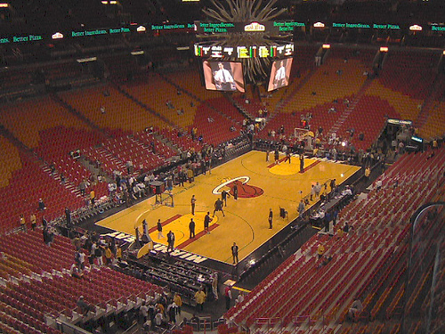 American Airlines Arena Seating Chart, Views  Reviews Miami Heat