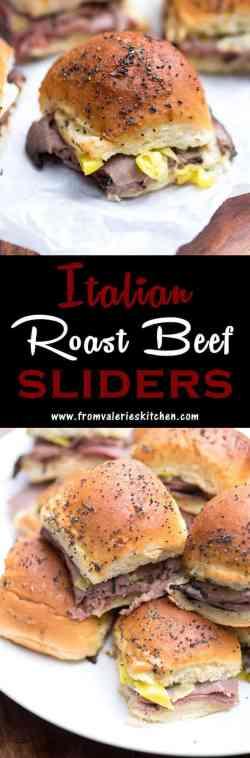 Small Of Roast Beef Sliders
