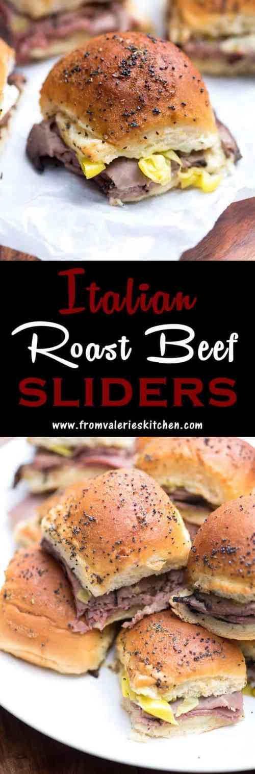 Medium Of Roast Beef Sliders