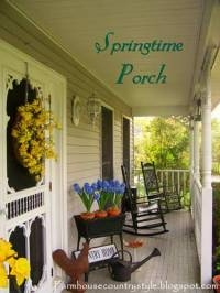 Country Porch Decorating Ideas