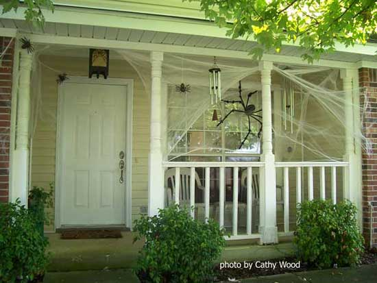 IDEAS  INSPIRATIONS FLASHING LIGHT UP HALLOWEEN GHOST DECORATION - decorate house for halloween