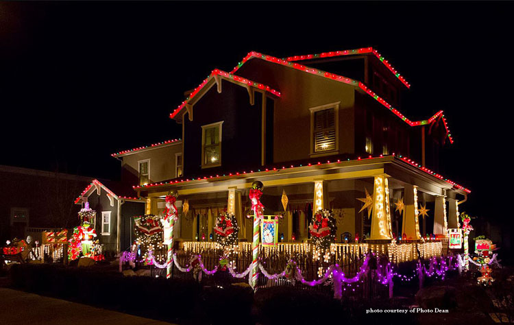 Lighted Outdoor Christmas Decorations and Ideas - lighted outdoor christmas decorations