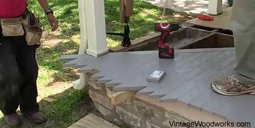 Porch Flooring 2 Azek Building Products Porch Decking