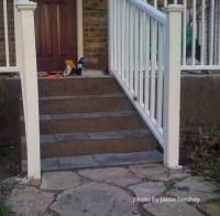 Slate Doorstep & Slate Front Porch Steps