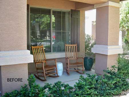 Quick Decorating Ideas | Southwest Decorating | Southwest Porch