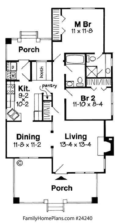 Bungalow Floor Plans Bungalow Style Homes Arts and Crafts - bungalow floor plans