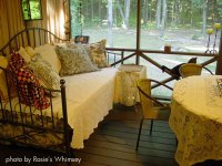 A Sleeping Porch Is All About Comfort   Porch Swing Beds
