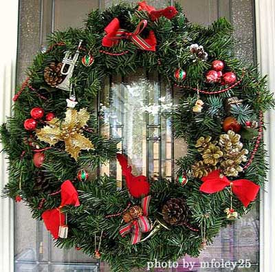 Festive Wreath Ideas for Christmas - christmas wreath decorations
