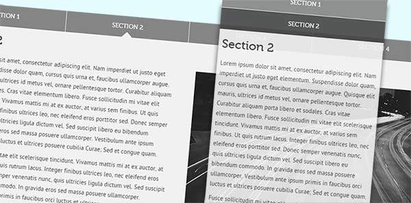 Responsive jQuery Tabs Tutorial