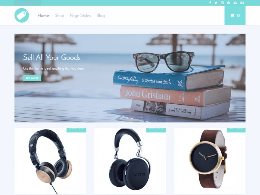 Supply Affiliate WordPress Theme by Modern Themes