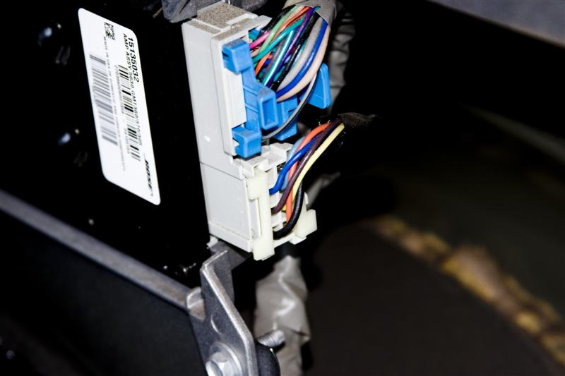 My version of an amp install - Chevy TrailBlazer, TrailBlazer SS and