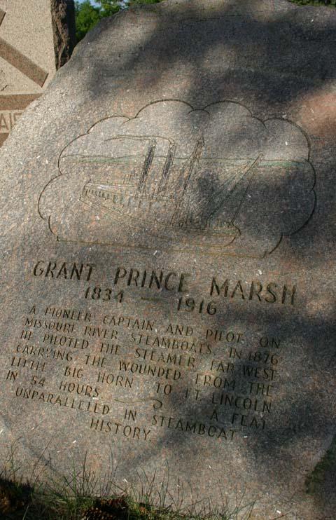 Grant Marsh Gravesite