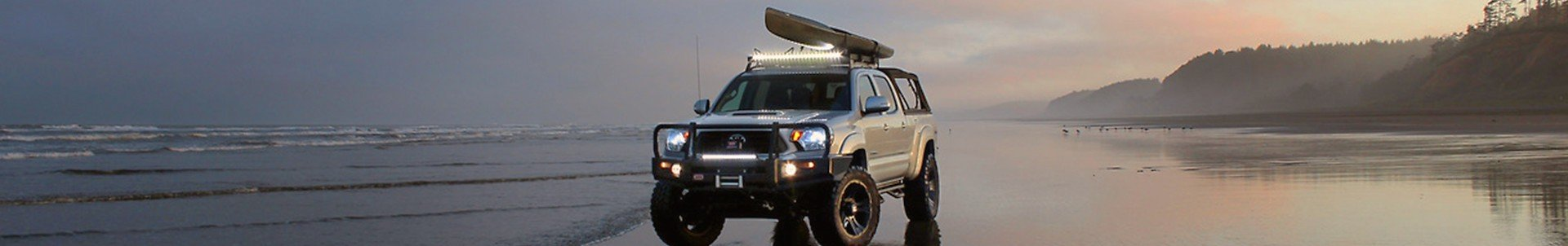 Off-Road Tough LED Lights  4x4 Mounting Solutions Front Runner
