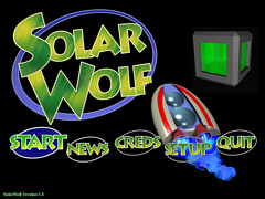 SolarWolf - full game download of an updated arcade hit SolarFox clone
