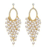 New Designer Earrings Pea Designer New Fashion Diamond